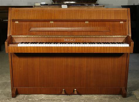 Bentley Upright Piano For Sale With A Mahogany Case