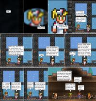 terraria chair and table the legend of maxx comic 284