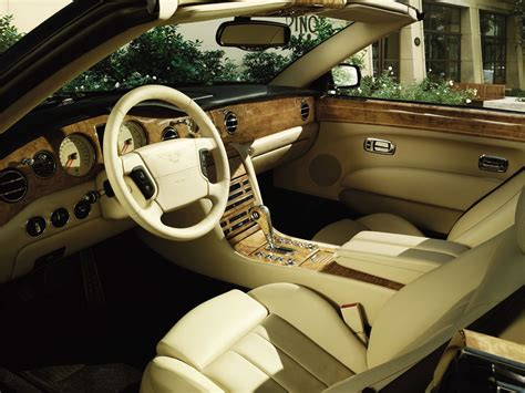 luxury cars inside bentley azure