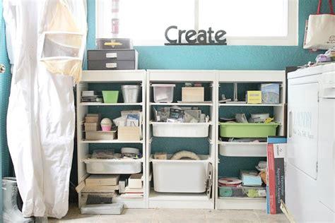 Craftaholics Anonymous®  Small Craft Room Tour Vanessa