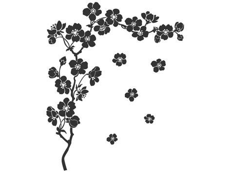 wandtattoo zweig mit kirschblueten wandtattoosde