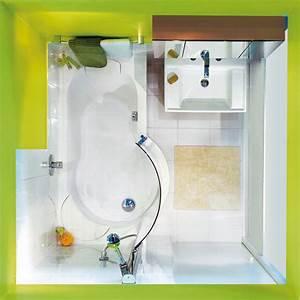 Sitzbadewanne Mit Dusche : bade und duschspa im kleinen 2 6 m bad minibad mit raumsparender wanne ~ Frokenaadalensverden.com Haus und Dekorationen