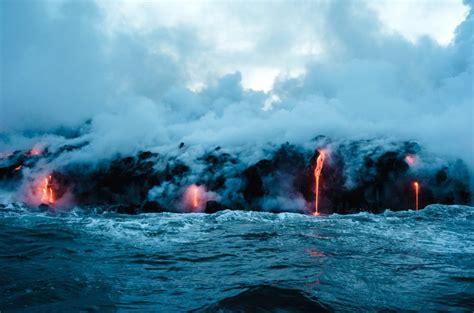 kostenlose bild vulkanausbruch hitze gefahr eruption