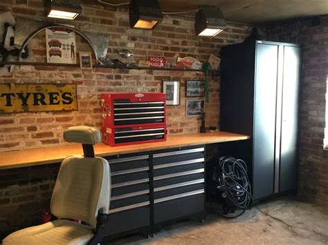 customers  man cave  newage pro series cabinets