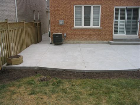 Cement Patio Designs by Cement Patio Designs My Concrete Patio And Walkway