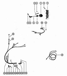 Mercury Marine 90 Hp  6 Cylinder  Wiring Harness  U0026 Ignition Coil Parts