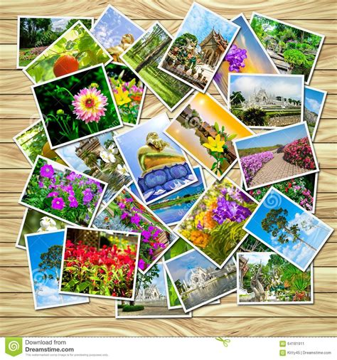 A Stack Of Photographs Stock Photo  Image 64181911