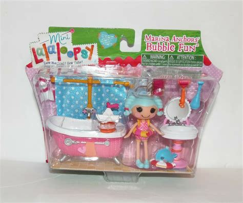 mini lalaloopsy marina anchors bubble fun set sew