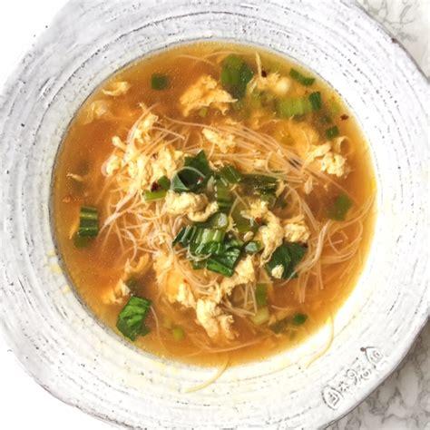 egg drop noodle soup egg drop ginger scallion noodle soup savoring the flavoring