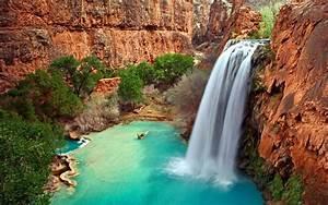 Arizona, Waterfalls, Wallpapers