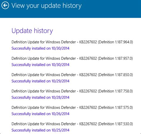 Can Check Your Work History by Windows 10 How To Check Windows Update History