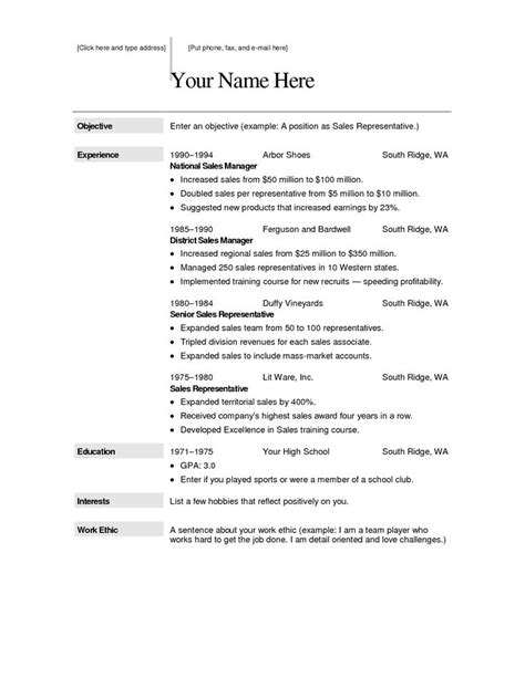 Usable Resume Templates by The 134 Best Best Resume Template Images On