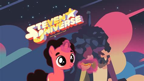 Steven Universe Star Background Steven Universe Intro Versión My Little Pony Youtube