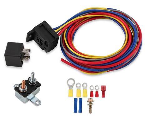 Electric Fan Harness Relay Kit Manual
