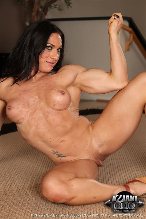 Azianiiron Presents A Nude Photo Gallery Of ripped vixen