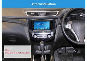 Uv Black 2din 2014 Nissan X