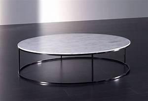 Table Ronde En Marbre : table basse en marbre id es de d coration int rieure french decor ~ Mglfilm.com Idées de Décoration
