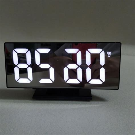 Font alarm clock font download free at fontsov.com, the largest collection of cool fonts for this font uploaded 21 february 2015. Multifunction Digital Alarm Clock LED Display Mirror Clock
