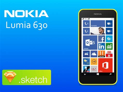 nokia lumia 630 sketch freebie free resource for sketch sketch app sources