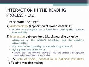 Lecture 3 Models Of Reading 2  2