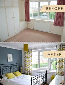 Home Design Before And After Before After A Bedroom Goes From Beige To Beautiful Design Sponge