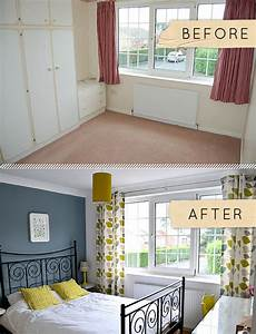 Before & After: A Yorkshire Bedroom Goes from Beige to