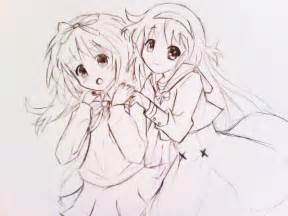 Anime Girl Best Friend Drawings