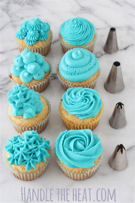cupcake decorating tips handle the heat