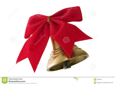 Bell And Bow Royalty Free Stock Photo