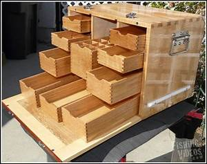 Wood Wood Fishing Tackle Box Plans | How To build a ...
