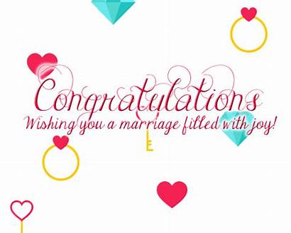 Congrats Congratulations Marriage Wishes Cards Funny Happy