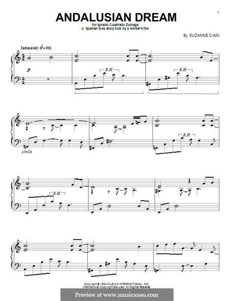 andalusian music dream musicaneo interactive score