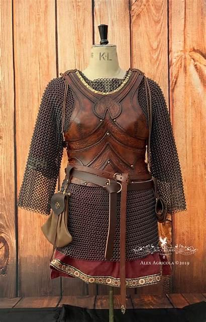 Armour Freya Leather Blackravenarmoury Raven Armoury Academy