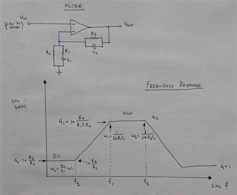 Amp Active Band Pass Filter Design Electrical