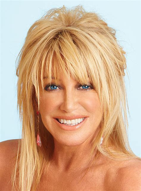 Suzanne Somers Hairstyles With Bangs