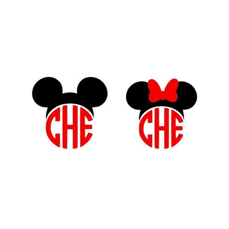 minnie mouse monogram mickey monogram svg minnie monogram svg minnie mouse svg