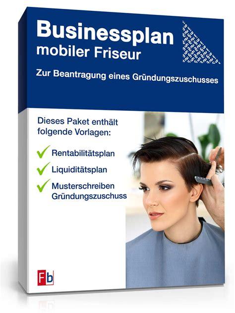 businessplan mobiler friseur de businessplan