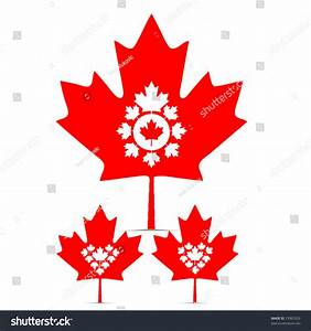 Vector Set Of Canada Maple Leaf - 73965529 : Shutterstock
