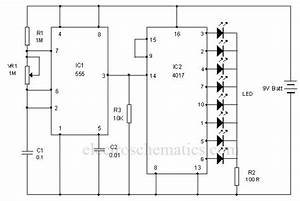 Led Chaser Circuit
