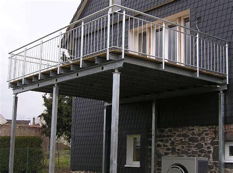 Terrassen Aus Stahl by Balkone Stahlbalkone Und Terrassenbel 228 Ge Kolb Metallbau