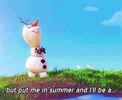 my gif frozen wdas olaf in summer frozen spoilers i knew ...