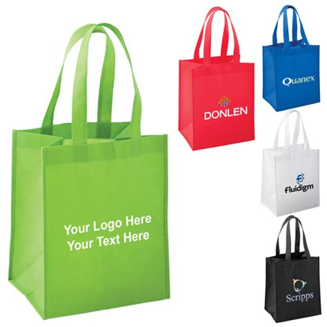 personalized mid size  woven polypropylene tote bags