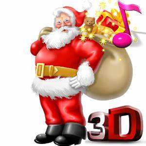 Santa Claus 3D Live Wallpaper Android Apps on Google Play