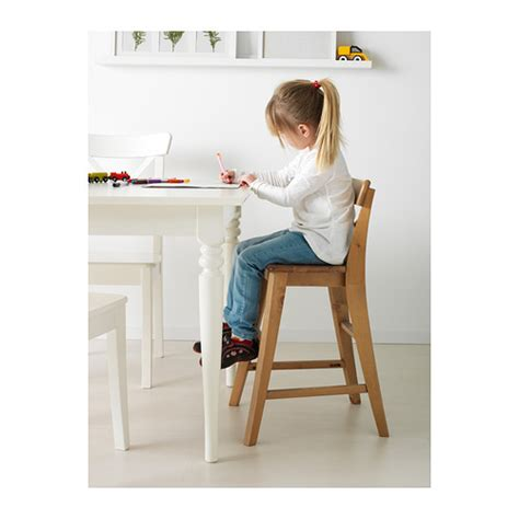 ingolf junior chair antique stain ikea