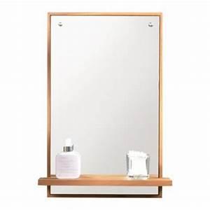formidable miroir lumineux salle de bain castorama 2 With miroir salle de bain avec tablette castorama