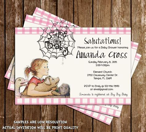 Baby Shower Websites - s web baby shower invitations 15 printed w
