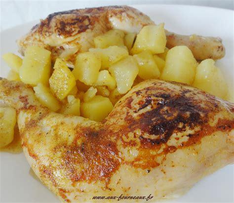 cuisiner une cuisse de poulet cuisse de poulet rôtie sauce curry aux fourneaux