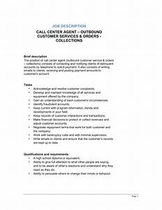 call center agent outbound customer service collection With documents collection jobs