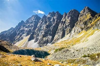 Mountains Slovakia Tatra Hiking Range Tatras Highest