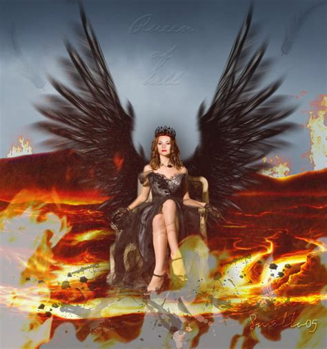 Angel And Demons Wallpaper Meg Masters Queen Of Hell By Smollo05 On Deviantart
